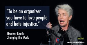Heather Booth Love People Hate Injustice